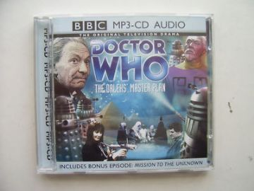 Doctor Who The Dalek Master Plan MP3 CD  Soundtrack